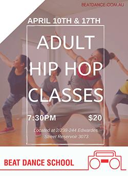 Adult Hip Hop Classes